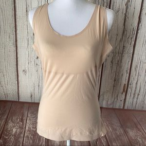 Spanx nude compression top size XL